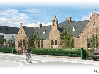 Highland Council plot Merkinch Primary transformation