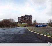 The nursery will stand close to Inverclyde Royal Hospital