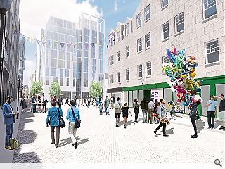 Aberdeen Market redevelopment reaches for the skies