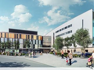 £150m Edinburgh children's hospital to move on-site within weeks