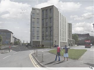 Townhead student housing doubles up