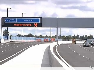 M74 extension to open to traffic tonight
