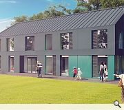 A planned two-storey extension of Ratho Primary
