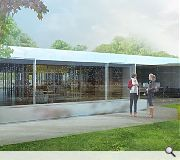 Running water will be harnessed to animate garden spaces