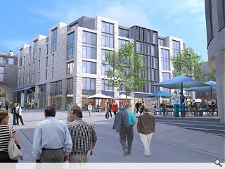 Revised Caltongate plans submitted