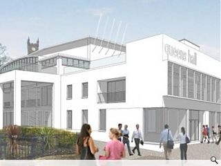 Indicative design for Dunoon's Queens Hall approved