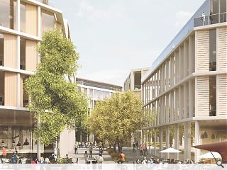 University of Glasgow campus overhaul secures blessing of planners