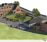 A post-war extension and canteen will be converted alongside the original school