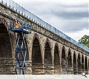 Runners up in the contest included the 61km long Borders Railway built by BAM Nuttall