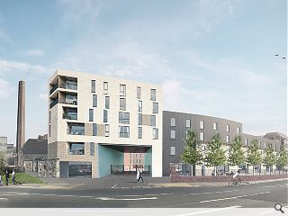 Dunfermline's Linen Quarter breaks ground
