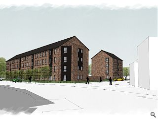 40 affordable homes planned for Springburn Way