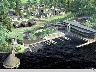 New look Taymouth Marina set for official launch
