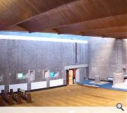 Interior spaces will be sensitively remodelled to accommodate the change of use