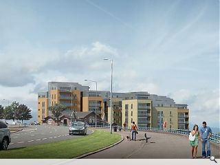 Greenock waterfront apartments launched