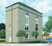 The former engine house will be subdivided into two homes