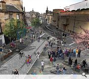 A mock-up of the Meadows to George Street project, part of CCT