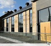 The civic hub is intended to boost regeneration in the Renfrewshire town