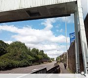 A landscape buffer and six-storey Pinkston Gateway building will front the busy Springburn Road