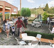 A 'cultural food centre' on the site of these industrial units is one of the ideas being looked at