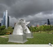 Andy Scott's Kelpies in Chicago