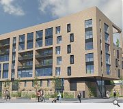 A variety of flatted and terraced accommodation will be on offer