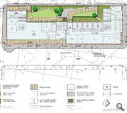 A raised landscape deck will provide amenity space for residents