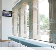 The refurb was initiated to provide open plan flexible office space