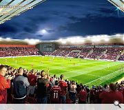 The club hope to improve match day atmosphere with a single tier stand
