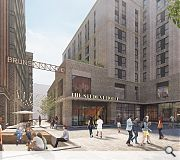 A central public square will nestle at the heart of the development