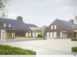 Nord's Bellahouston Park hospice secures planning