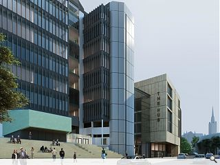 Plans go in for University of Glasgow teaching hub