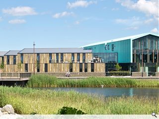 Inverness enterprise and research centre completes