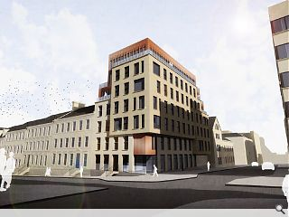 Serviced apartments sought for site of 'unviable' Glasgow townhouse