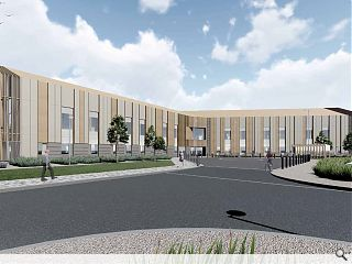 Inverness Campus health hub goes it alone