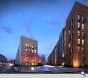 Once complete the redeveloped estate will offer 500 new homes