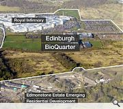 A community of 20,000 people could one day call Edinburgh BioQuarter home
