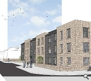 A secluded rear courtyard will provide resident amenity