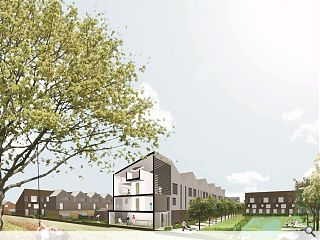 Cowlairs masterplan calls for 850 homes in North Glasgow water space