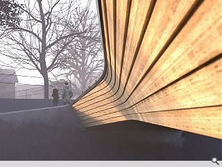 Moxon Architects win German bridge competition