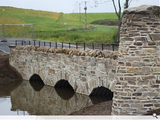 'Old-style' Glenlivet Distillery road bridge carries first traffic