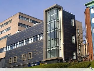 University of Strathclyde unwraps new look Physics school