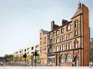 Laurieston regeneration continues with plans for further homes