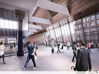 Queen Street Station redevelopment on schedule