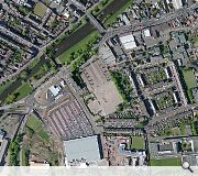 A large brownfield site in the heart of town will be brought back into use