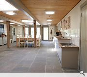 facilities on offer include a kitchen, potting shed and education space