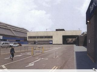 Network Rail file plans for Queen Street Station staff block