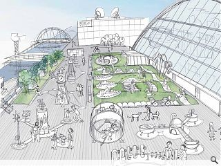 Glasgow Science Centre spills out with Pacific Quay takeover