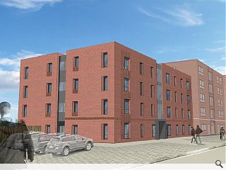 Edinburgh supported living block breaks new ground