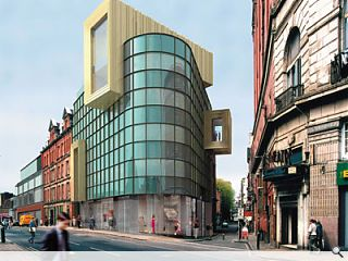 Piers Gough's new hairdressing HQ is bound to turn a few heads