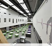 The school includes a cutting-edge digital learning centre